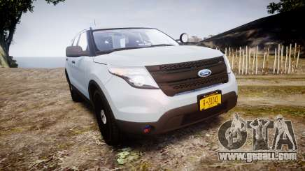 Ford Explorer Police Interceptor 2013 [ELS] for GTA 4