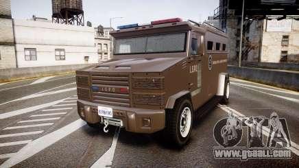 GTA V Brute Police Riot [ELS] skin 1 for GTA 4