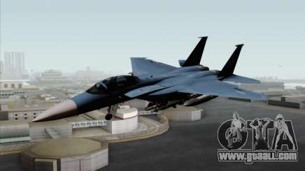 McDonnell Douglas F-15D Eagle GRDF for GTA San Andreas