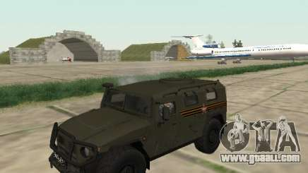 GAZ 2330 Front for GTA San Andreas