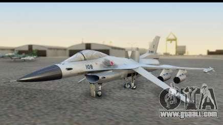 F-2A Zero White for GTA San Andreas