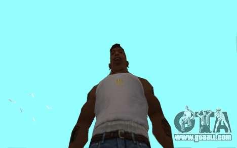 Цепь Monster Energy for GTA San Andreas fifth screenshot