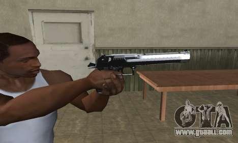 Refle Deagle for GTA San Andreas third screenshot