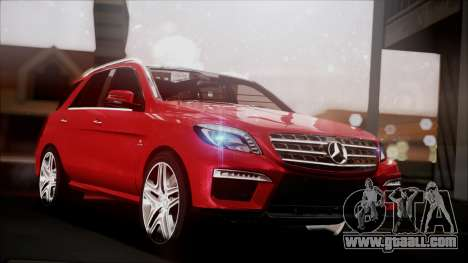 Mercedes-Benz ML 63 AMG 2014 for GTA San Andreas