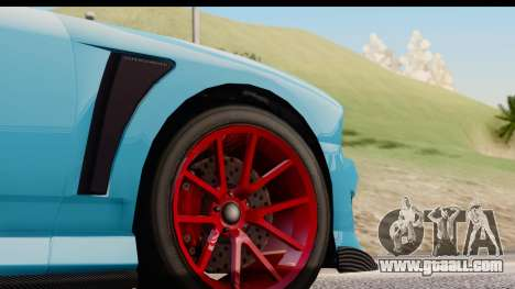 GTA 5 Bravado Buffalo S Sprunk IVF for GTA San Andreas inner view