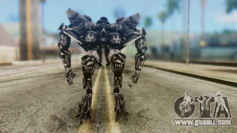 Starscream Skin from Transformers v2 for GTA San Andreas third screenshot