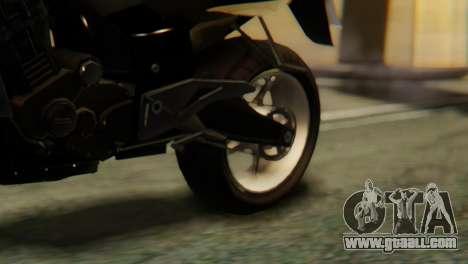 Bajaj Rouser 135 for GTA San Andreas back view