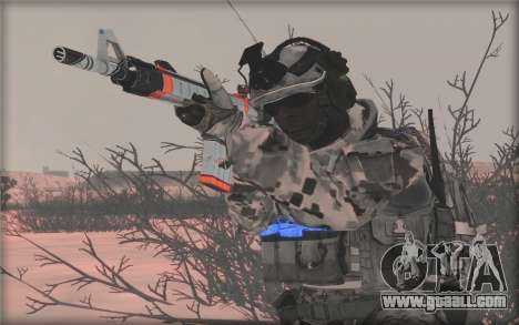 BF3 Soldier for GTA San Andreas forth screenshot