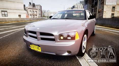 Dodge Charger Police Unmarked [ELS] for GTA 4