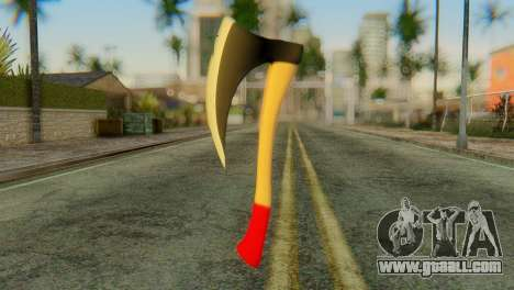 Axe for GTA San Andreas second screenshot