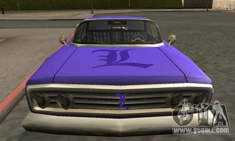 Luni Voodoo Remastered for GTA San Andreas engine