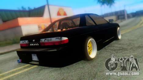 Nissan Silvia S13 Onevia for GTA San Andreas left view