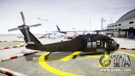 Sikorsky MH-60L Black Hawk [EPM] for GTA 4 left view