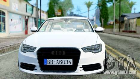 Audi A6 Stanced for GTA San Andreas left view