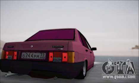 VAZ 21099 for GTA San Andreas side view