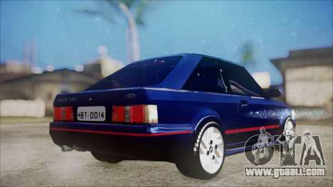 Ford Escort for GTA San Andreas left view