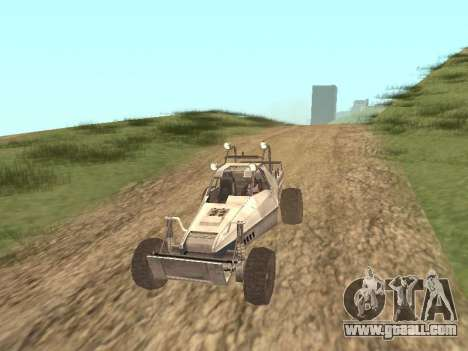 Buggy from Just Cause for GTA San Andreas left view