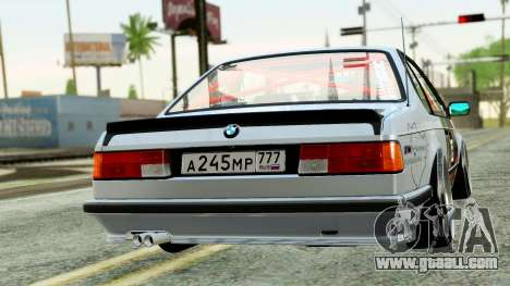 BMW M635CSi E24 1984 for GTA San Andreas left view