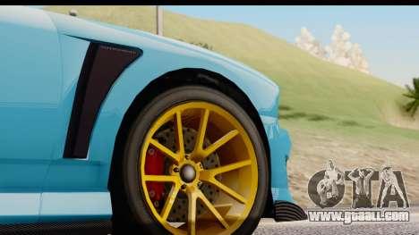 GTA 5 Bravado Buffalo S Sprunk IVF for GTA San Andreas side view