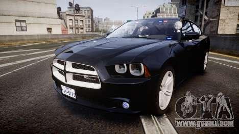 Dodge Charger SWAT Tactical Unit [ELS] rbl for GTA 4