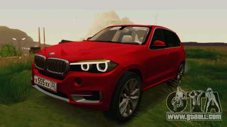 BMW X5 F15 2014 for GTA San Andreas
