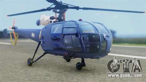 Indian Navy CHETAK Heli Skin for GTA San Andreas