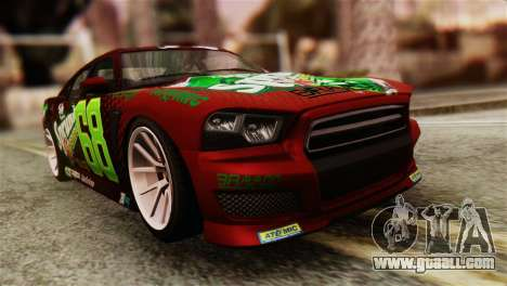 GTA 5 Bravado Buffalo Sprunk HQLM for GTA San Andreas