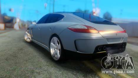 Porsche Panamera Turbo for GTA San Andreas left view