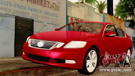 Lexus GS 350 2008 for GTA San Andreas
