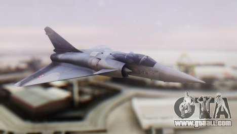 Dassault Mirage 4000 French Air Force for GTA San Andreas