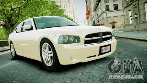 Dodge Charger RT 2006 for GTA 4