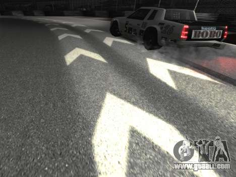 New textures of the track 8-Track for GTA San Andreas third screenshot