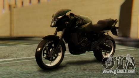 Bajaj Rouser 135 for GTA San Andreas