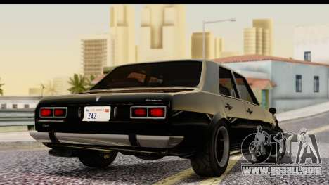 GTA 5 Vulcar Warrener IVF for GTA San Andreas left view