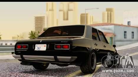 GTA 5 Vulcar Warrener IVF for GTA San Andreas left view