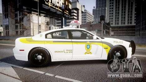 Dodge Charger Surete Du Quebec [ELS] for GTA 4 left view