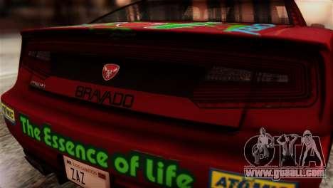GTA 5 Bravado Buffalo Sprunk HQLM for GTA San Andreas back view