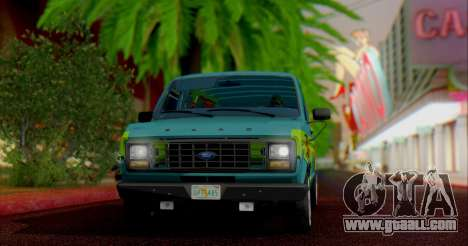 Ford E-150 Scooby Doo for GTA San Andreas left view