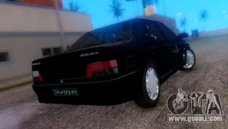 Peugeot 405 GLX Police for GTA San Andreas left view