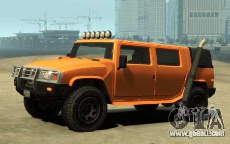 Mammoth Patriot Pickup v2 for GTA 4