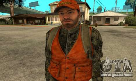 Job Man for GTA San Andreas