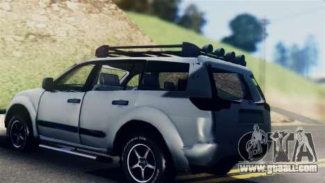 Mitsubishi Pajero 2014 Sport Dakar Offroad for GTA San Andreas left view
