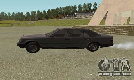 Mercedes-Benz W124 E200 for GTA San Andreas back left view