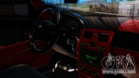 VAZ 2170 AMG for GTA San Andreas right view