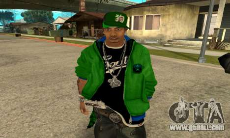 Groove St. Nigga Skin Second for GTA San Andreas