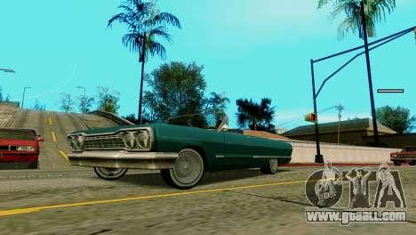 Wheels from GTA 5 v2 for GTA San Andreas second screenshot