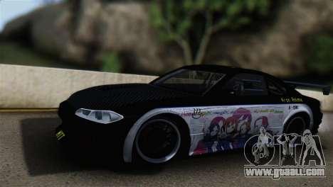 Nissan Silvia S15 K-on Itasha for GTA San Andreas