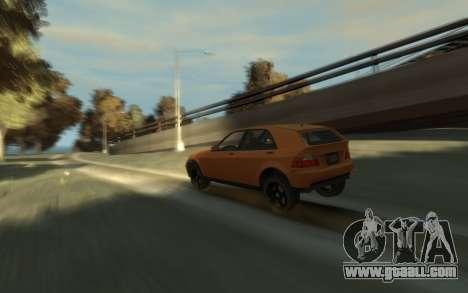 Karin Sultan Hatchback v2 for GTA 4 right view