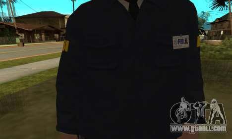 FBI HD for GTA San Andreas second screenshot