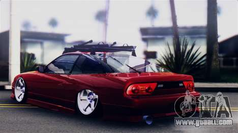 Nissan 180SX for GTA San Andreas left view